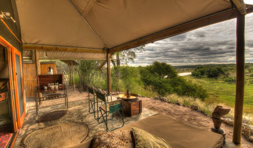 Freshly renovated tented accommodation with en-suite bathroom as well as outdoor shower and loo. Each tents boasts a private verandah with beautiful views over the Boteti River and Makgadikgadi Pan National Park.