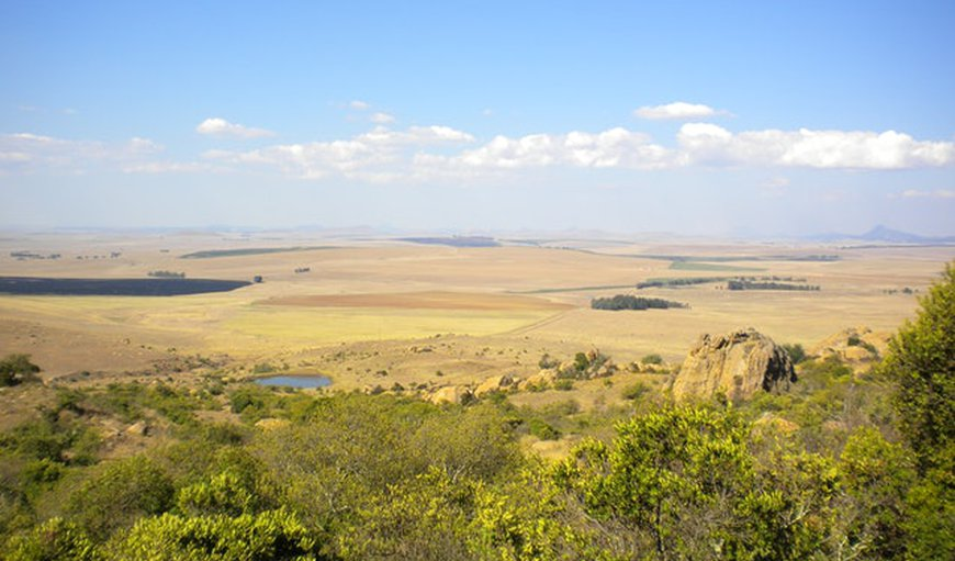Amazing views from the Game Farm in Harrismith, Free State Province, South Africa