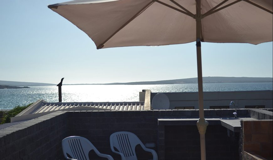 deck with beautiful sea views in Langebaan, Western Cape, South Africa