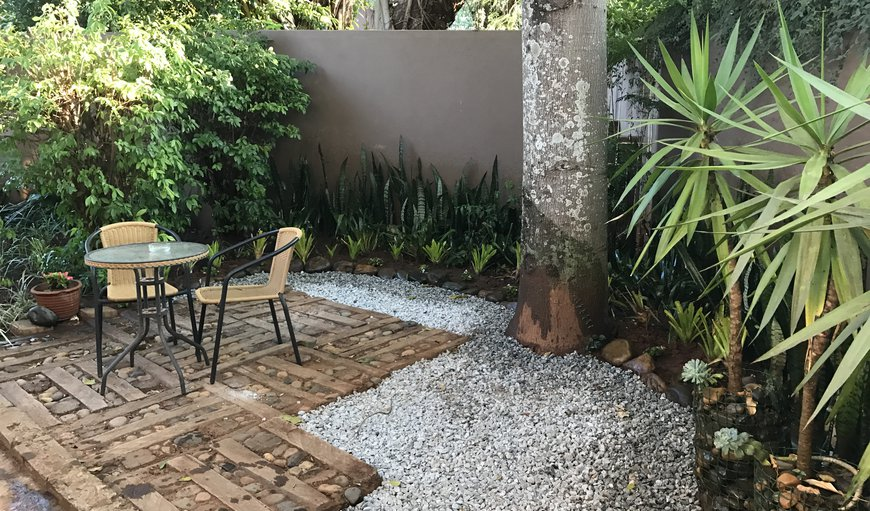 Garden Seating area for Deluxe Room with Shower