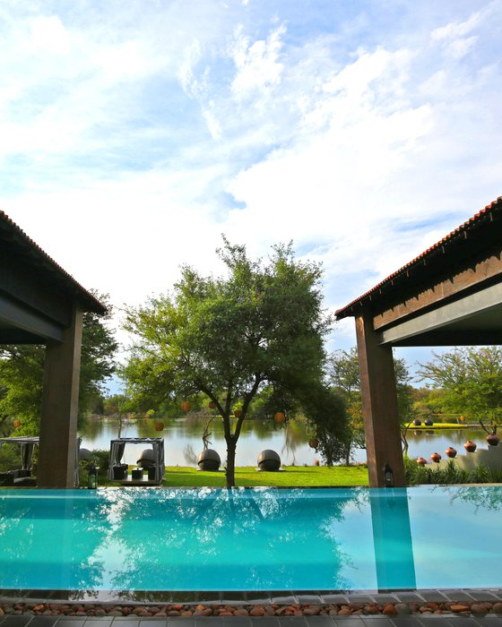 Infinity Pool at Palala Boutique Game Lodge