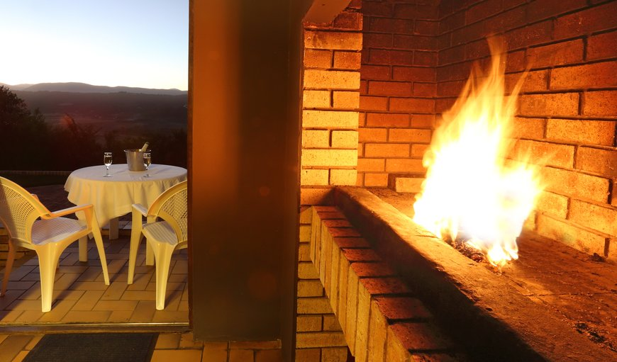Braai facilities with a view in The Island, Sedgefield, Western Cape , South Africa