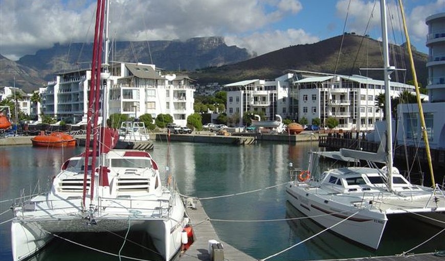 Marina in V&A Waterfront, Cape Town, Western Cape , South Africa