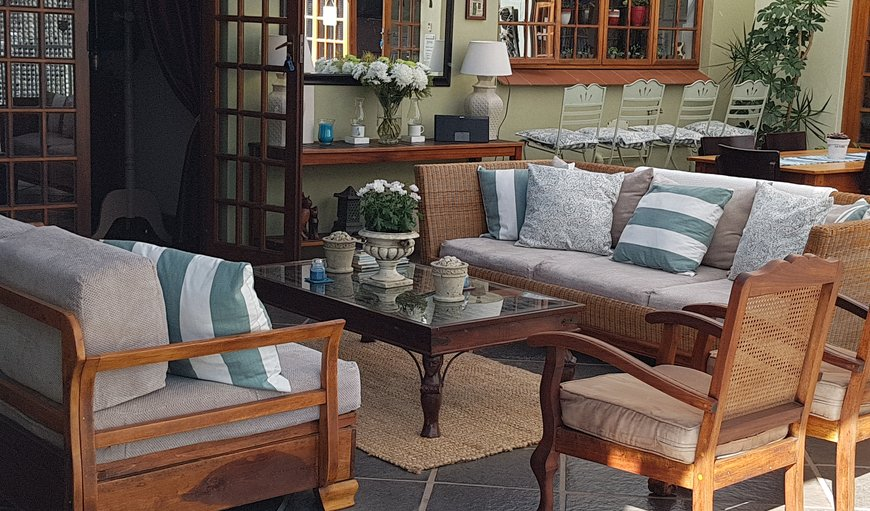 Patio area in Wembly, Pietermaritzburg, KwaZulu-Natal, South Africa