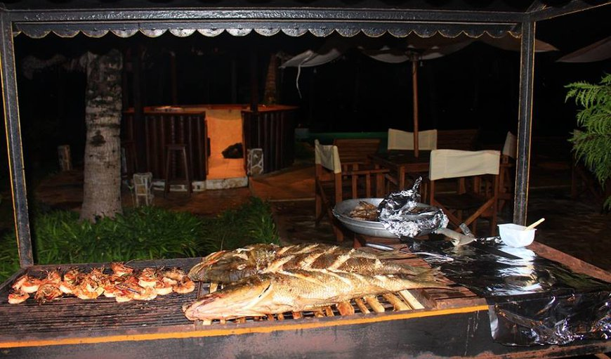 Fresh fish BBQ buffet at the Parfum Vanila restaurant
