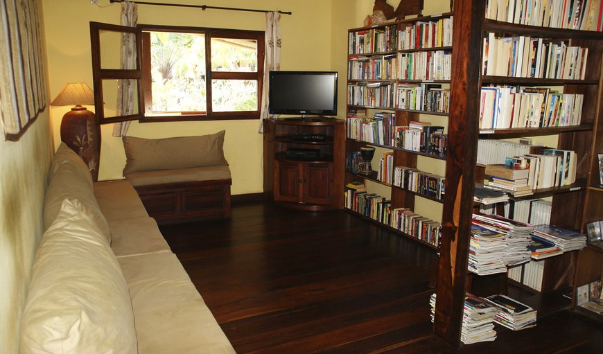 TV room & librairy