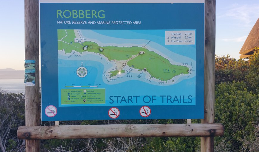 Hiking in Robberg Nature Reserve