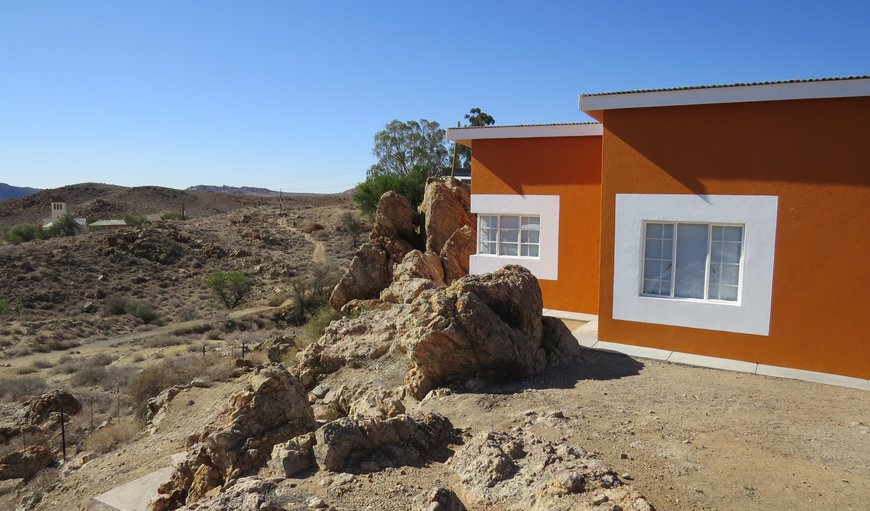 Orange House with a view over Aus   in Aus, Karas, Namibia