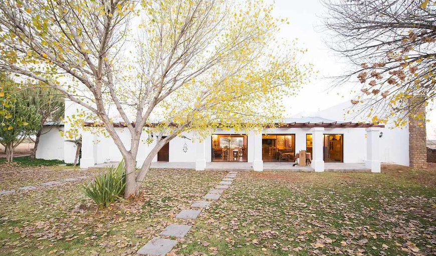 New Holme , where angels rest under tall trees (as PC believe!) provides a warm, homely atmosphere, nestling in the splendor of the surrounding nature and sleeps 27 guests. in Colesberg, Northern Cape, South Africa