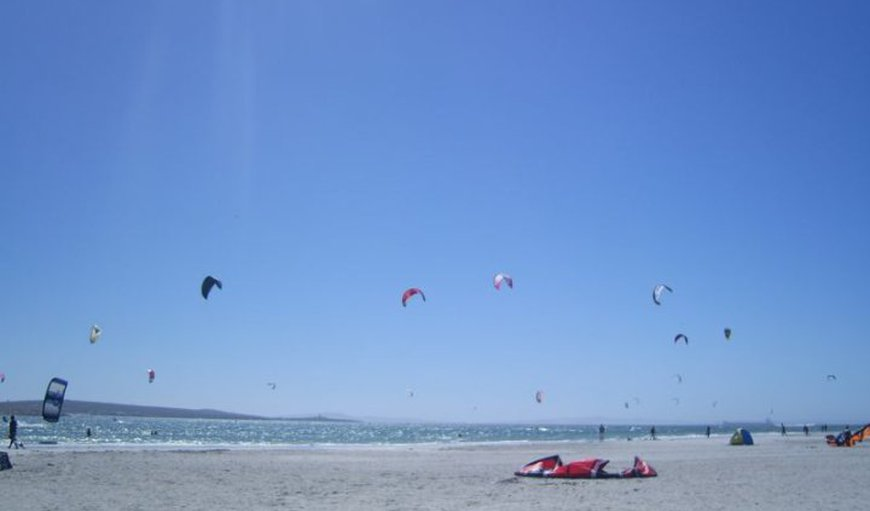 Langebaan is popular for wind and kite surfing