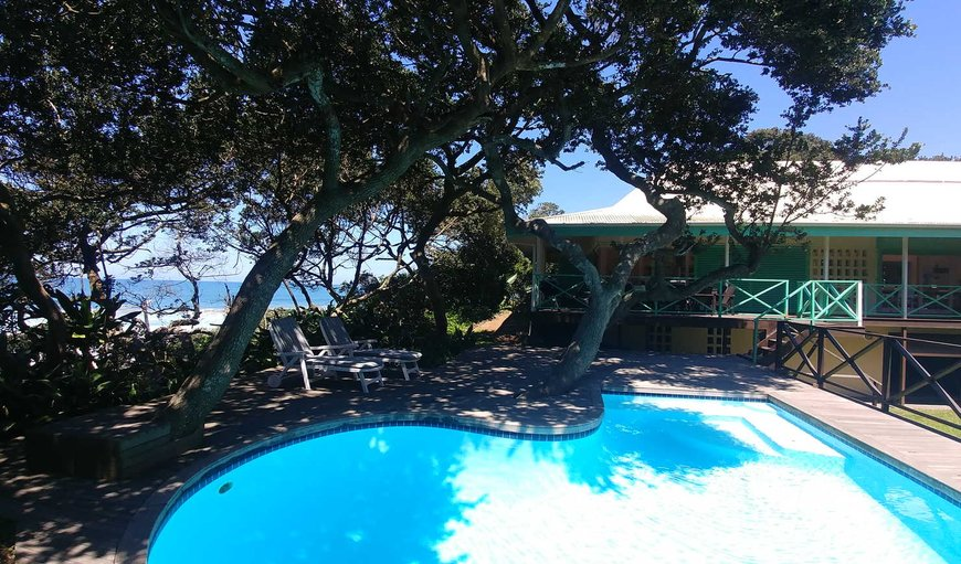 The Green Gate- Offering great sea views whilst nestled in a lush garden meters from the main beach you will find this beautiful upmarket home. in Zinkwazi Beach, KwaZulu-Natal, South Africa