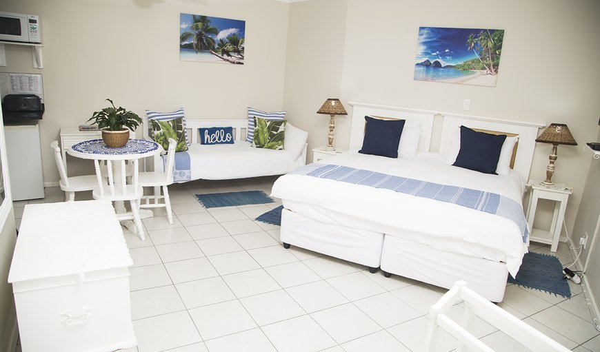 Beach Cove 2 (king size bed can be converted to 2 single beds on request) in Bluff, Durban, KwaZulu-Natal , South Africa
