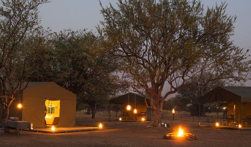 Dining Tent and Lounge Area in Pilanesberg, North West Province, South Africa