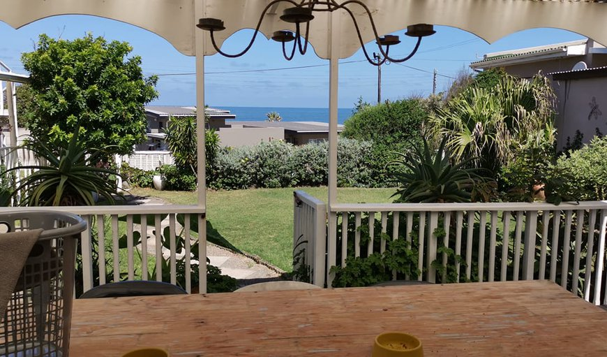 View from patio in East London, Eastern Cape, South Africa