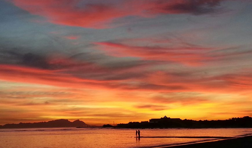 Gordon's Bay has the most beautiful sunsets