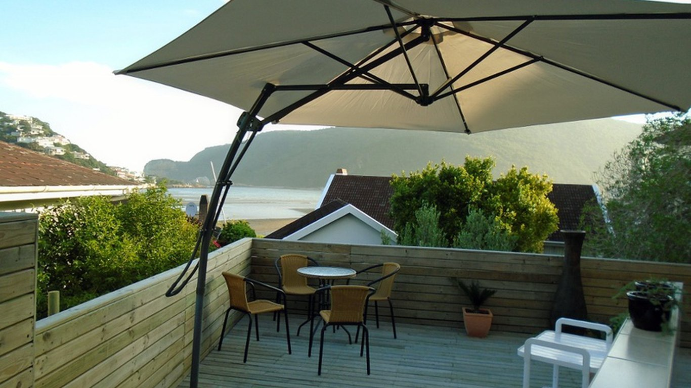 penthouse deck facing heads & Vue Grande Self Catering in Leisure Isle Knysna u2014 Best Price Guaranteed