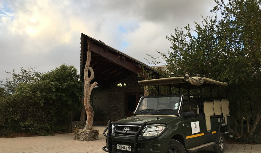 Game Drives available from the main croc lodge in Mjejane Private Nature Reserve, Mpumalanga, South Africa