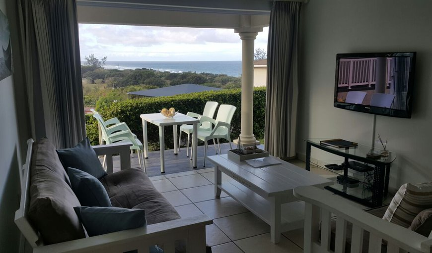 Lounge area with access to Patio  in Port Shepstone, KwaZulu-Natal , South Africa