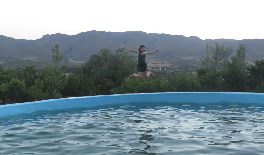 Mountain swimming pool