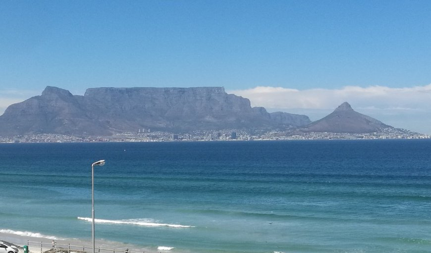 view from apartment in Bloubergstrand, Cape Town, Western Cape , South Africa