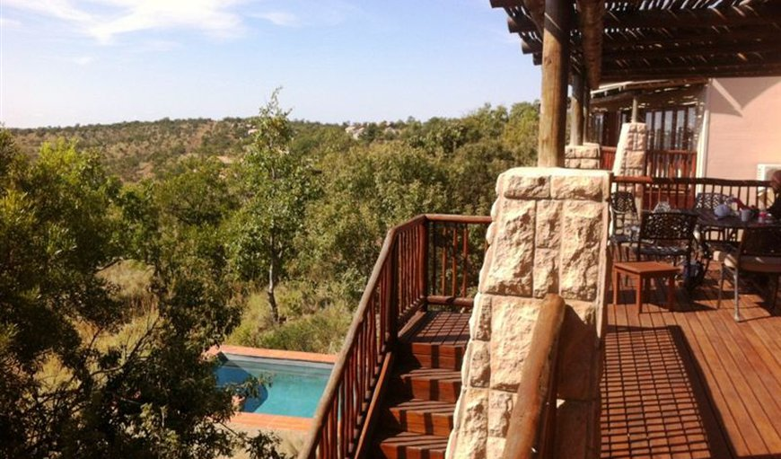 View from the balcony in Bela Bela (Warmbaths), Limpopo, South Africa