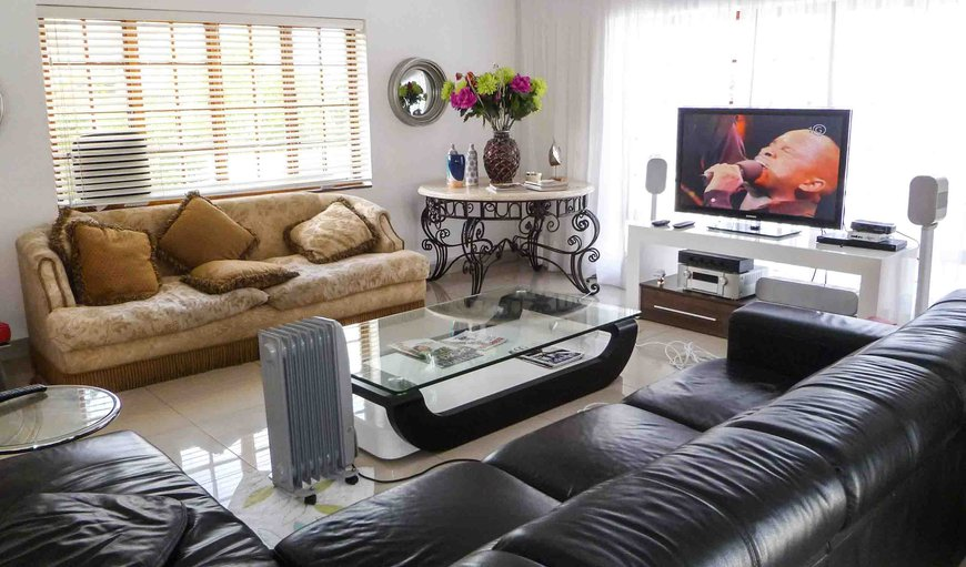 Comfortable Lounge area with Flat screen TV