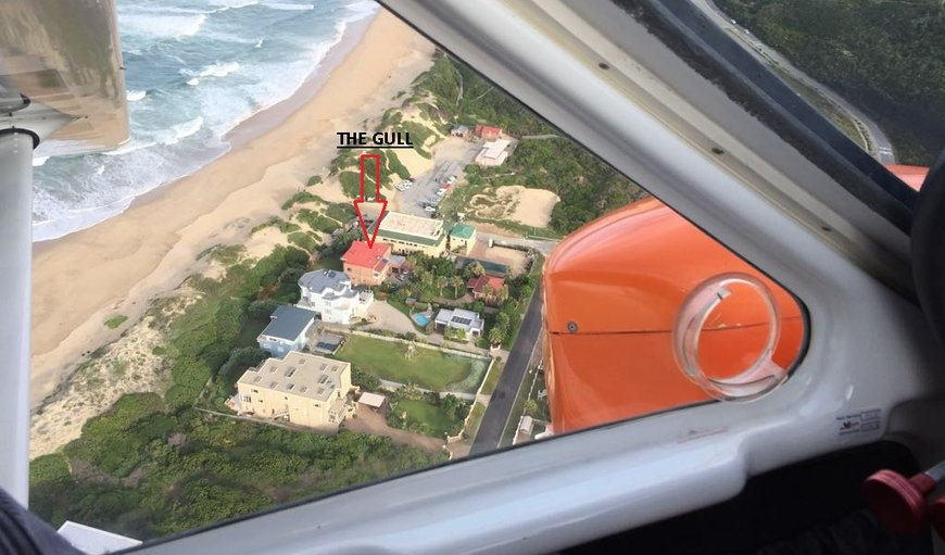 Aerial View in Myoli Beach, Sedgefield, Western Cape , South Africa