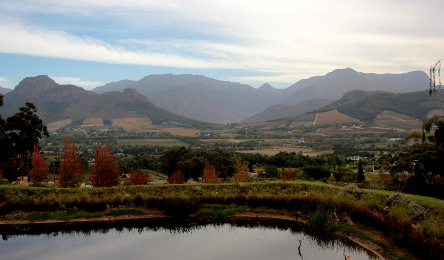 Mountain View in Franschhoek, Western Cape , South Africa