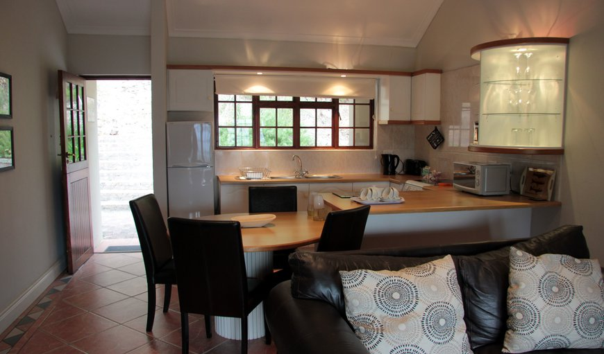 View of kitchenette - open plan to lounge.