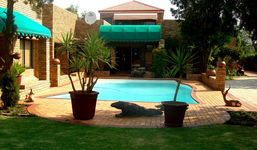 Swimming pool in Riviera Park, Mafikeng, North West Province, South Africa