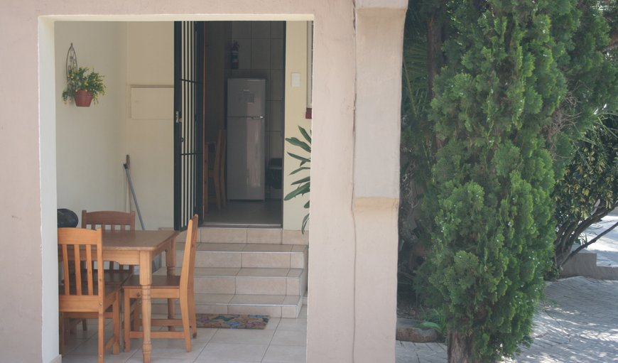 Unit 3 Entrance and veranda
