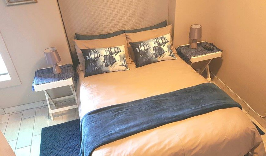UNIT 5 = This unit is comfortable and intimate, sleeps 2 adults and 1 child and enjoys its own private, undercover braai area with 2-seater outdoor dining table. it has a separate bedroom with double bed and sleeper couch in the dining area, en-suite shower, and a fully-equipped kitchenette