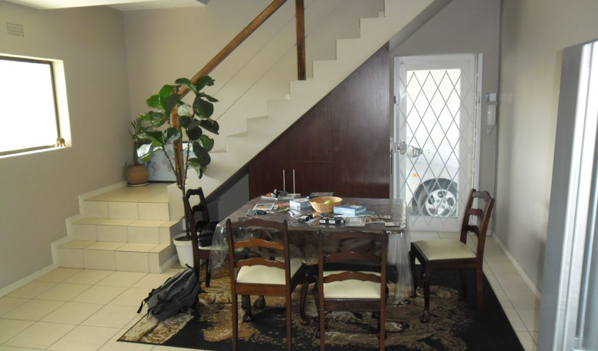 Dining area leading to upstairs lounge