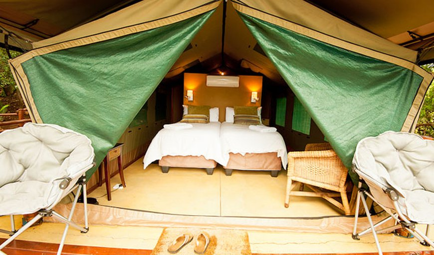 Ituri Tent 01 - King size bed in Hoedspruit, Limpopo, South Africa