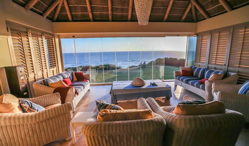 Beautiful shared lounge area with ocean views in Sedgefield, Western Cape , South Africa