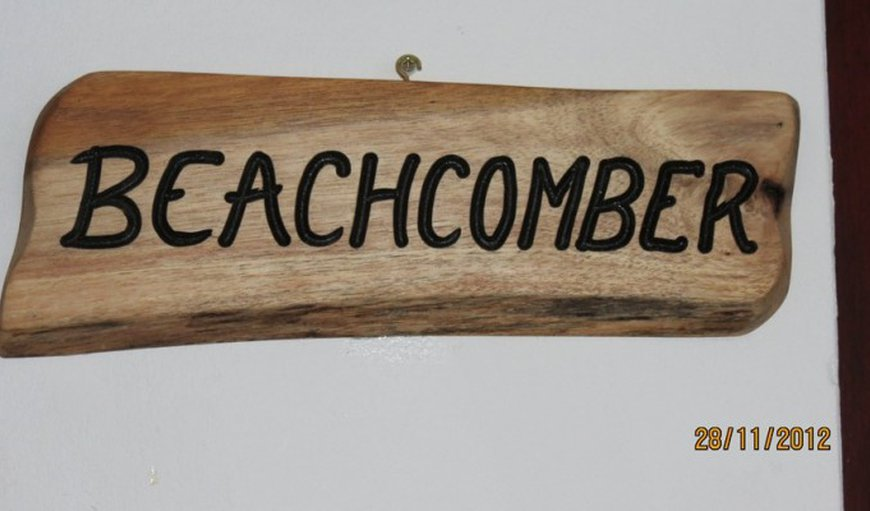 Beachcomber in Mossel Bay, Western Cape , South Africa