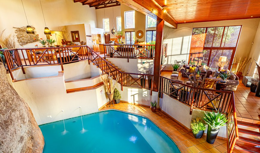 Swimming Pool View from Balcony to Bedrooms in Hazyview, Mpumalanga, South Africa
