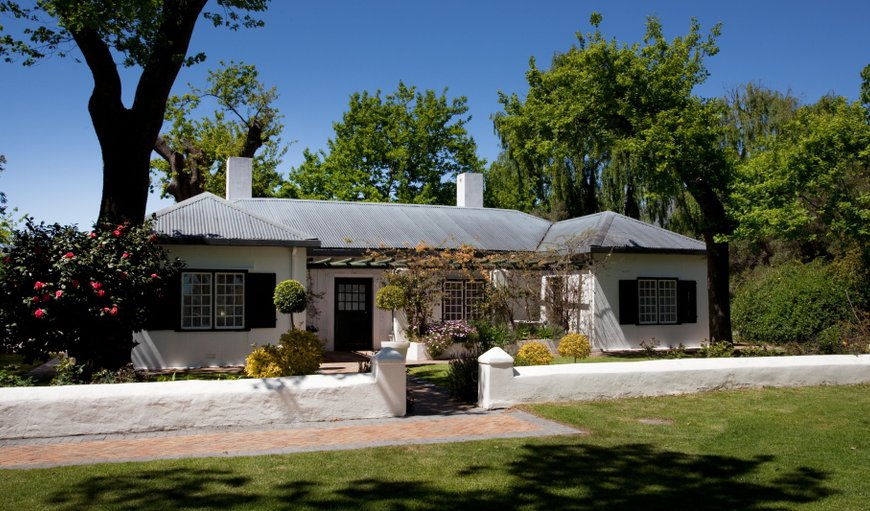 Allee Bleue Accommodation in Franschhoek, Western Cape , South Africa