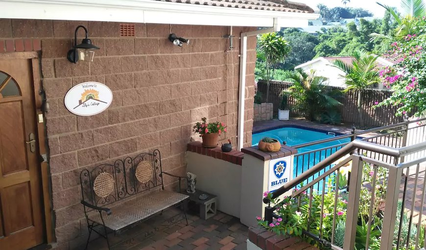 Lily's Cottage Entrance in Queensburgh, Durban, KwaZulu-Natal, South Africa
