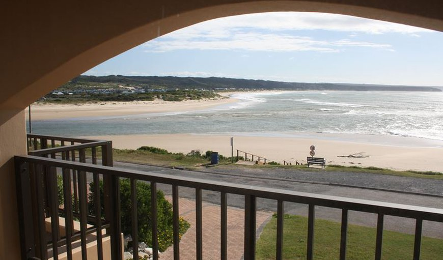 Family - View from balcony in Still Bay (Stilbaai), Western Cape, South Africa