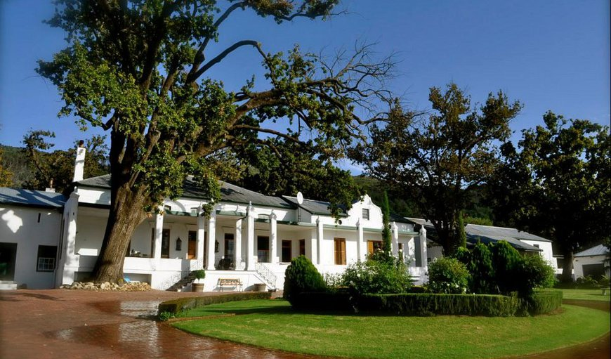 The majestic d'Olyfboom Guest House in Paarl, Western Cape , South Africa