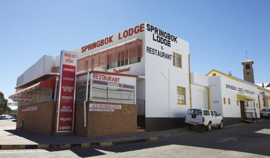 Springbok Lodge main building in Springbok, Northern Cape, South Africa