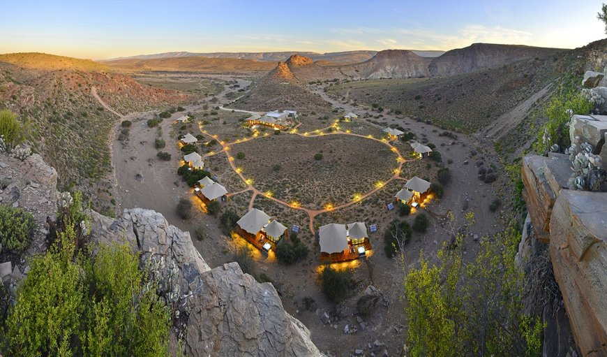 Dwyka Tented Lodge in Montagu, Western Cape , South Africa