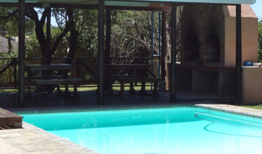 pool and braai area in Willowmore, Eastern Cape, South Africa