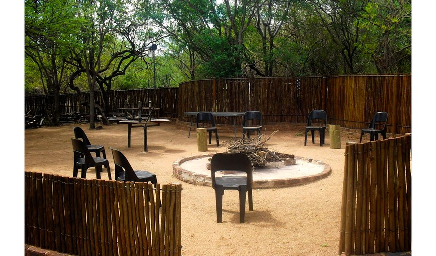 Enjoy log fires at the Boma and the braai area.