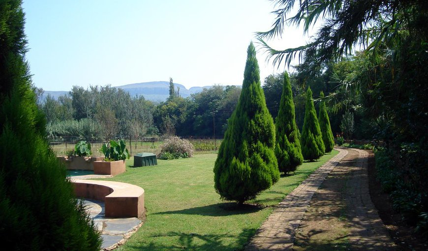 Garden in Hartbeespoort Dam, Hartbeespoort, North West Province, South Africa