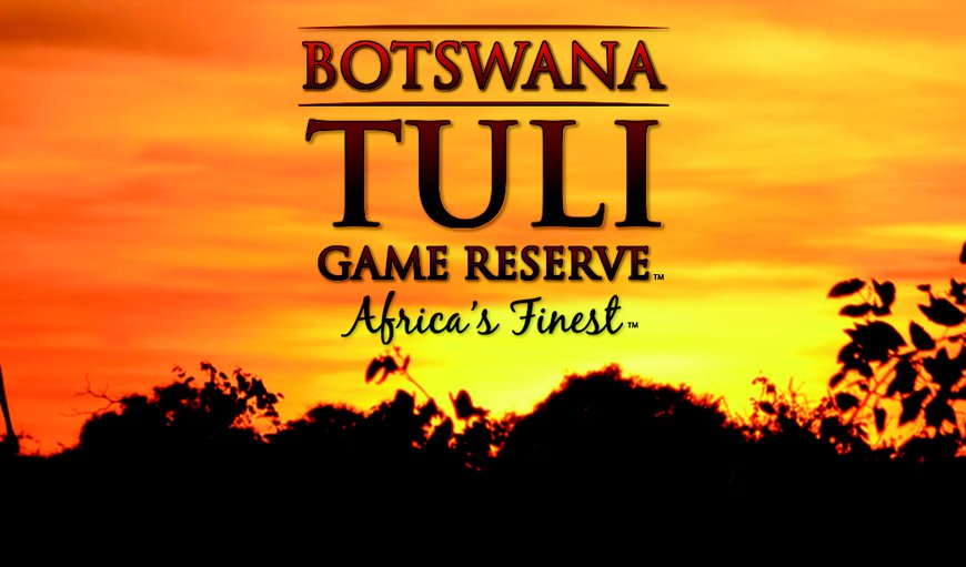 Tuli Game Reserve in Tuli Block , Central District , Botswana