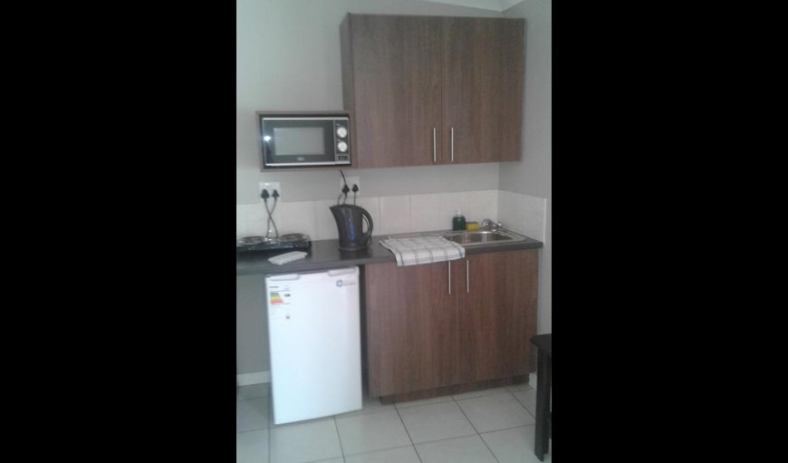 Kitchenette in one bedroom unit