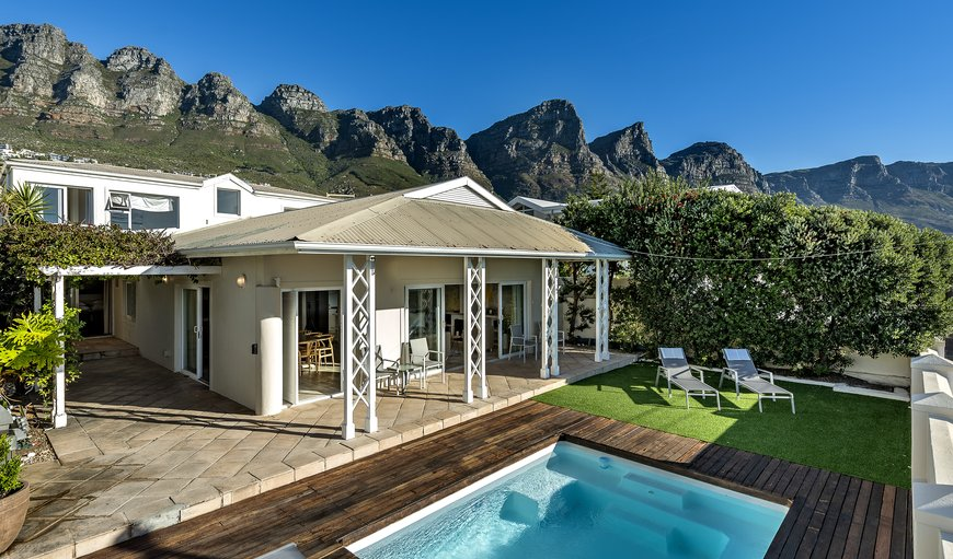 Patio and pool deck. in Bakoven, Cape Town, Western Cape, South Africa