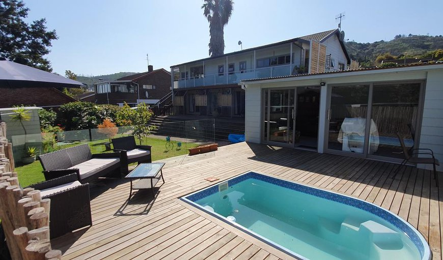 Swimming pool in Old Place, Knysna, Western Cape, South Africa